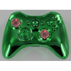 Chrome Green Lighted Thumbstick