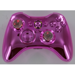 Chrome Pink Lighted Thumbstick