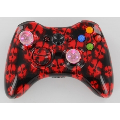 RED Ghost Lighted Thumbstick