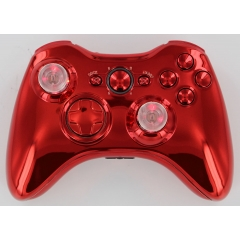 Chrome Red Lighted Thumbstick