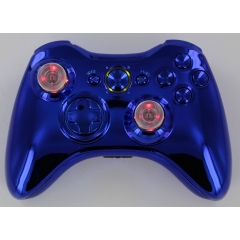 Chrome Blue Lighted Thumbstick
