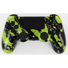 PS4 GREEN SPLATTER